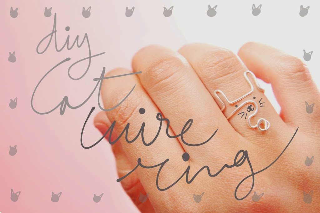 DIY: Cat wire ring !