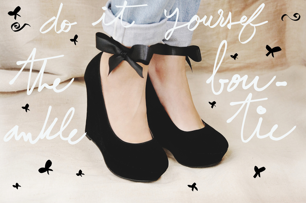 DIY: Nœud papillon pour cheville / The ankle bow-tie !