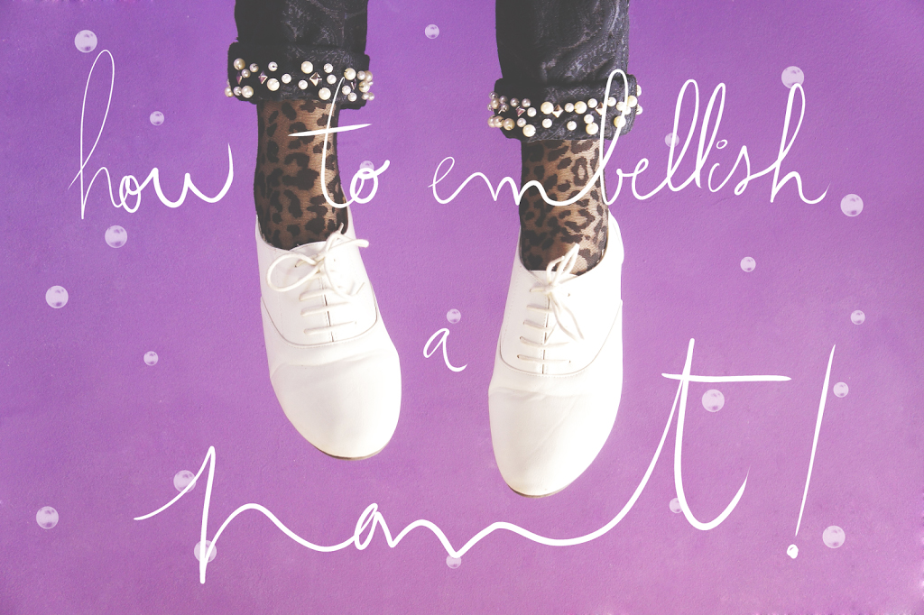 DIY: Comment embellir un pantalon / How to embellish a pant !