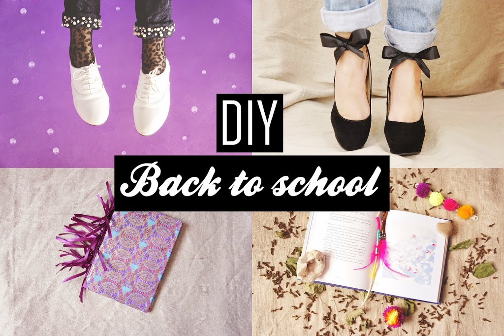 "Selection DIY ""Back to School"": Mode & Organisation !"