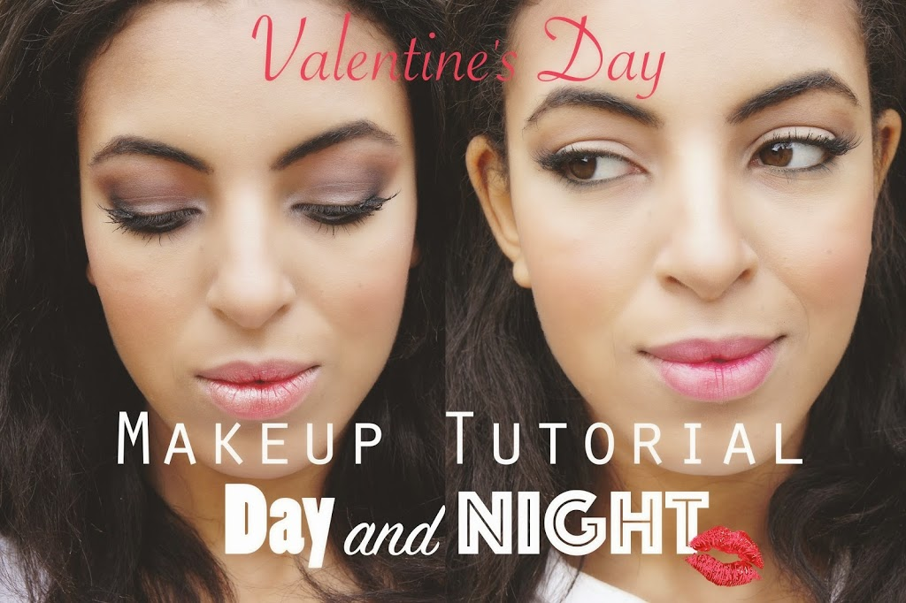 Valentine's Day makeup tutorial: Day and Night !